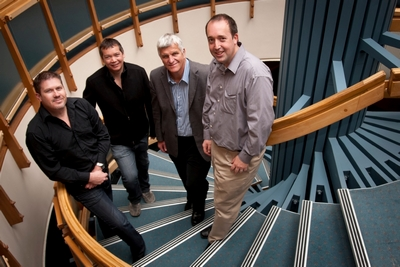 Andrew Goodison, Warren Parker, Michael Jack and Trevor Stuthridge