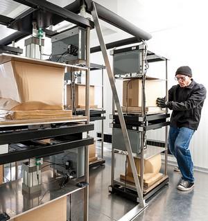 packaging coolroom