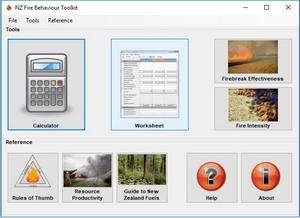 Fire behaviour toolkit