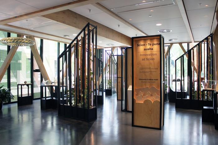 Innovation at Scion science exhibition