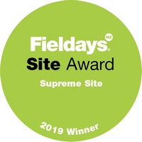 Fieldays 2019 award