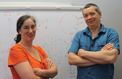 Drs Katherine Challis and Michael Jack explain their theory for molecular-scale energy conversion.
