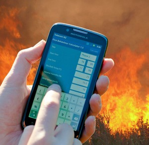 Smartphone fire program
