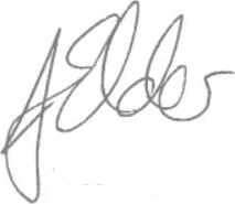 J Elder signature